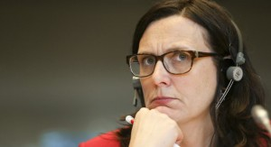 Malmström i uppförsbacke © European Union 2015 - EP